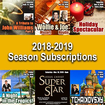2018-2019 Season Subscriptions